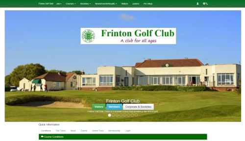 Frinton Golf Club Website